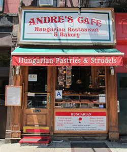 andre's cafe new york