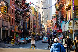 Kínai negyed Manhattan
