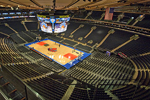 Madison Square Garden exclusive tour