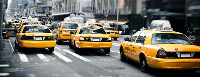 Taxik New Yorkban