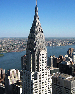 Chrysler Building kupola