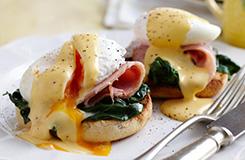 Benedict-féle tojás