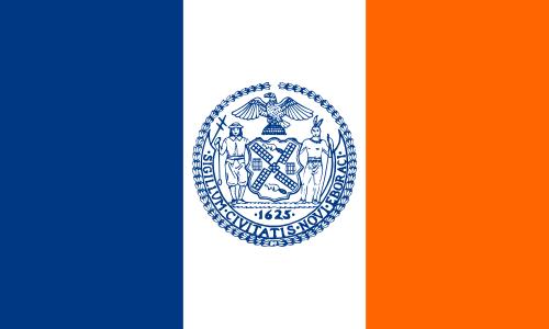 New York zászlaja