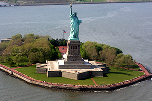Liberty Island Manhattan